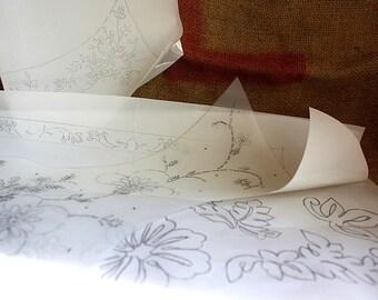 Embroidery patterns 4pcs