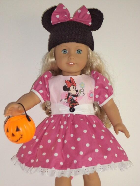 Crochet Minnie Mouse Doll : Crochet Minnie Mouse Dress For Doll Joy Studio Design ...
