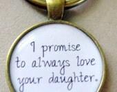 I PROMISE key chain