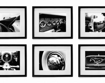 Classic Cars - Automobiles -  Series of 8 Photos - 5x7 in. - Wall Art - Wall Decor