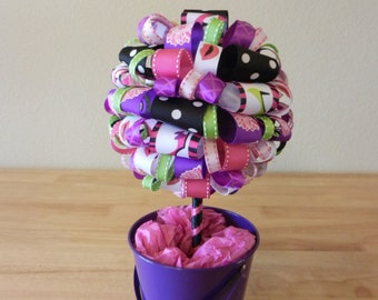 "High Heel Ribbon Topiary "" Girls Night Out"""