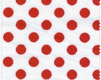 Red/ White Confetti Dot from Galaxy Fabrics - Yardage