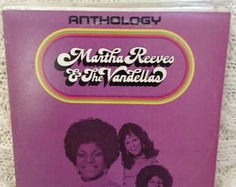 Martha Reeves and the Vandellas Anthology vinyl record, 2 LP set