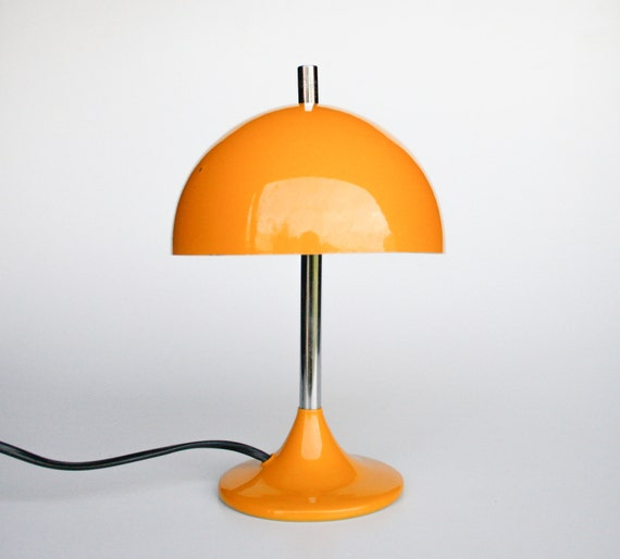 mid century modern mushroom desk lamp tulip base table lamp verner. Black Bedroom Furniture Sets. Home Design Ideas