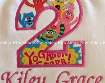 Appliqué number yo gabba T-Shirt
