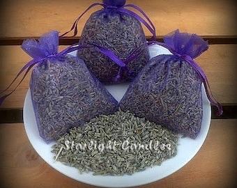 250 - 3x4 Dried Lavender Sachet Bags - Wedding Toss Favors - Guest Favors - Wedding Toss Lavender - Puple Sachets - Lavender Bags