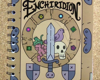 Enchiridion Notebook, 70pgs, 8.5in x 5.5in