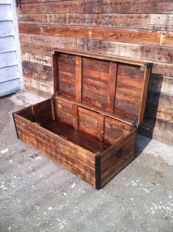 Reclaimed Wood Chest . - Reclaimed Wood Chest WB Designs