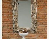 "Driftwood ""Malibu"" Mirror"
