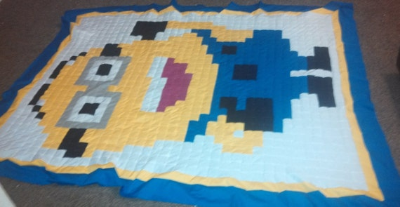 Items similar to Minion Despicable Me Twin/Full Size Patchwork ... : minion quilt - Adamdwight.com