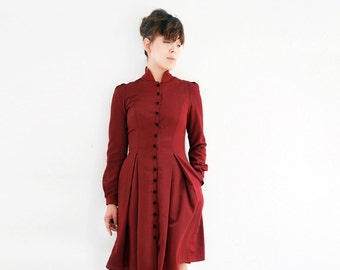 S.H.A.N.A red shirt dress