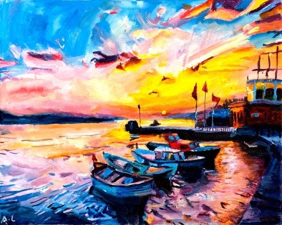 Acryllic Impressionist Paintings