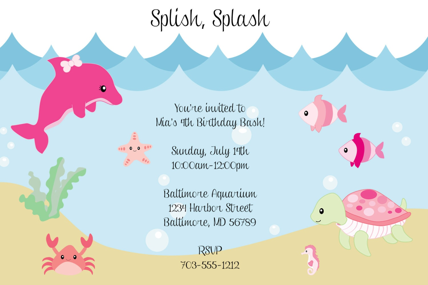under the sea baby shower invites for amazing invitation layout