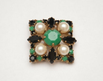 French vintage brooch