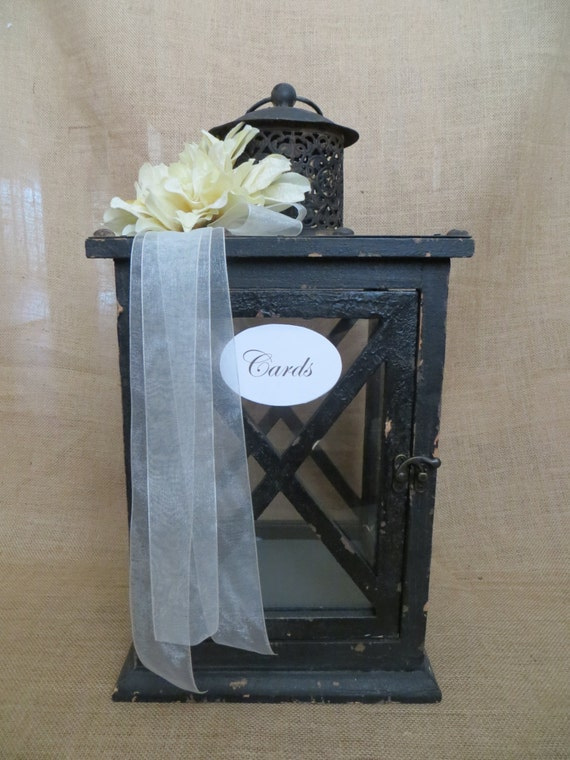 Wedding Lantern Card Holder, Money Holder, Card Box, Wedding Lantern ...