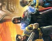 Blank Journal - Diary - Magneto - Storm - Wolverine - Xmen - Blank Note Book - Black - Hardcover - Mutant - Brotherhood Mutants - Apacolypse