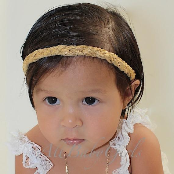 Baby Headband, Gold Headband, Handmade Headband, Gold Baby Headband, baby gold headband, adult gold headpiece, gold headband