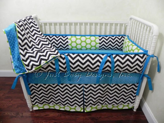 Items similar to custom baby bedding set wiley boy baby bedding