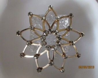 Vintage Rhinestone Hair Accessory Ornament FREE SHIPPING