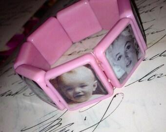 Marilyn Monroe pink bracelet