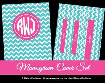EDITABLE Printable binder cover notebook planner cover school