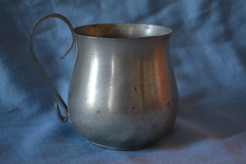 Vintage International Pewter Cup