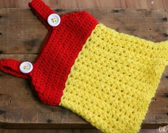 Button Jumper - Custom Jumper - Custom Girls Jumper - Custom Button Jumper - Custom Crochet Dress - Girls Jumper - Childrens Custom Jumper