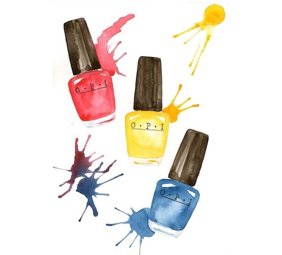 Items Similar To OPI Nail Polishes