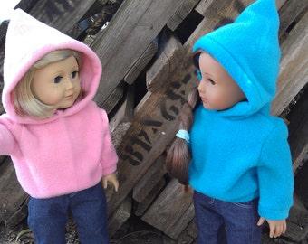 SALE American Girl Doll Hoodies Pink