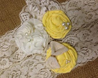Yellow garter