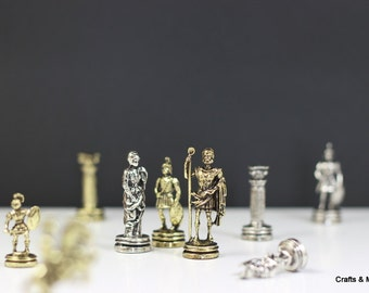 Caesar's Chess Pieces (25X25cm) / Board not included