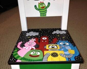Yo Gabba Gabba toddler chair