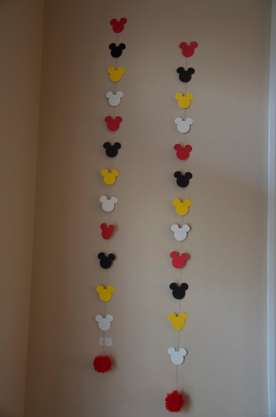 Items similar to Mickey Mouse / Minnie Mouse Wall decorations ...