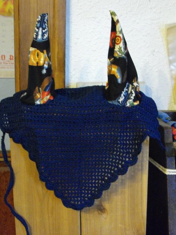 Horse Fly Bonnet Crochet by HorsesCrochetCrafts on Etsy