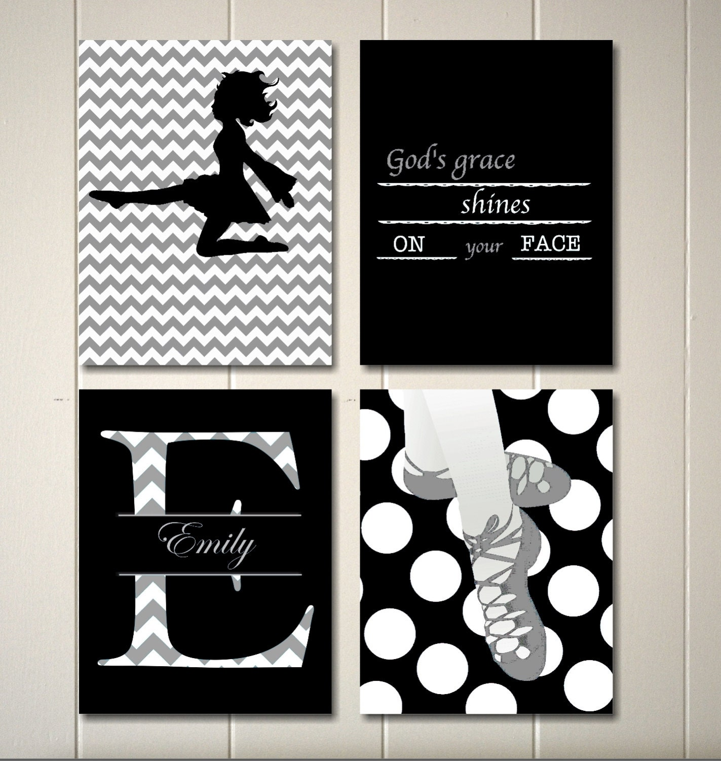 Teen girl room decor irish dance wall art irish dancergirls for Teen wall decor