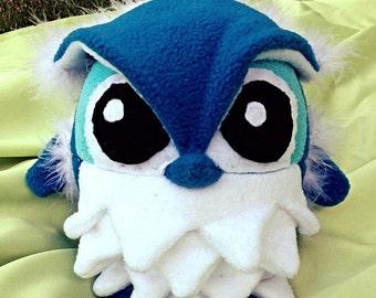 Water Bending Owl Plush - Made-to-Order