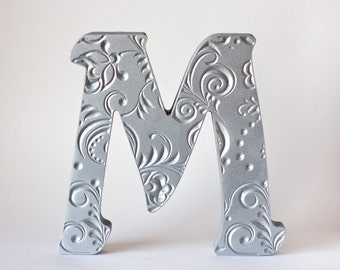 Home Decor Wood Decoration Wooden Letters For Engagement Photo Silver Letter