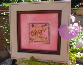 Just Girl Stuff Cross Stitch Pattern from Designs by Lisa