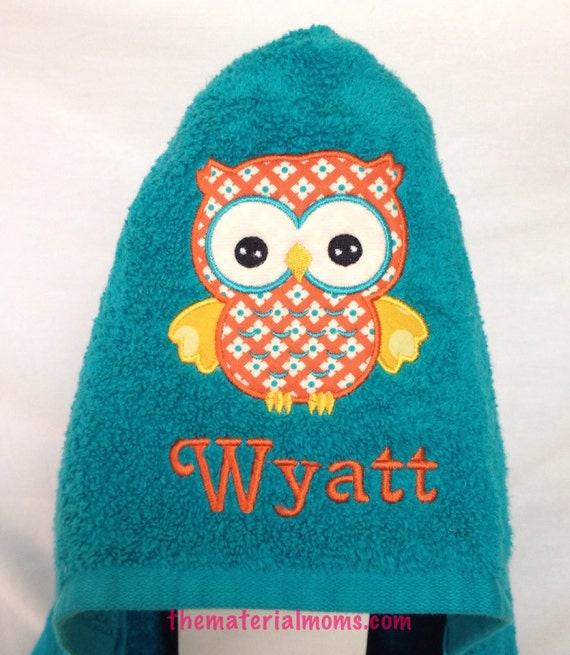 Items Similar To Kids Hooded Towel Personalized On Etsy