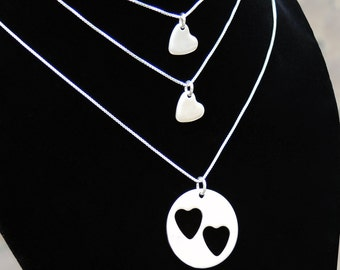 I Carry Your Heart (Mother & Daughter Necklaces)
