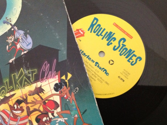 Rare 12 Rolling Stones Harlem Shuffle Record By Vinylrocket