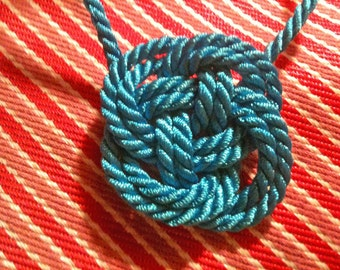 Nautical Cord Necklace - Many Colors to Choose From