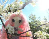 RESERVED- Blossom, the Flower Mermaid - Cute Mermaid Plushie
