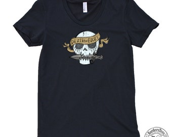 Women's DEATH OR GLORY American Apparel Poly-Cotton Tee