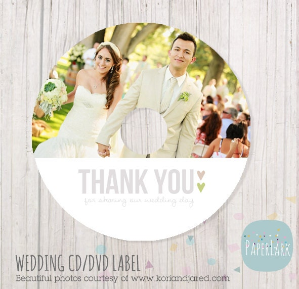 Wedding cd label photoshop template ew001 instant download zoom pronofoot35fo Choice Image