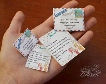 Elf Letter! Editable mini letter & envelope