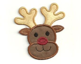 Rudolf the Reindeer Patch! Custom Made! AP117