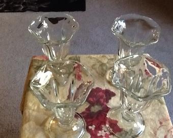Vintage Tulip Glasses