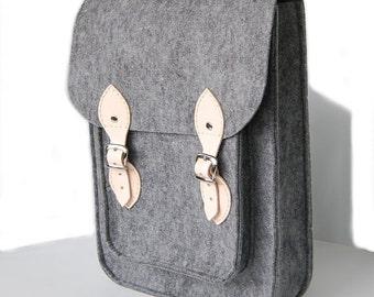 MacBook Pro 13 inch bag satchel Laptop bag case felt
