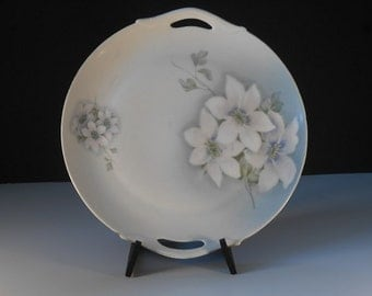 Antique Bavarian China Plate - Z.S.& C Collection
